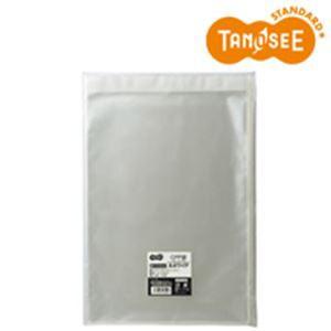TANOSEE CPP袋 A4ワイド用フタ・テープ付 240×330+40mm 100枚入