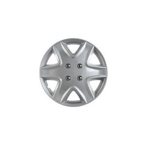 ホイールカバー 13インチ 4枚 スズキ パレット (シルバー) 【ホイールキャップ セット タイヤ ホイール アルミホイール】