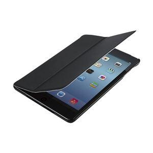 エレコム iPadmini(2012)/Retina(2013)用フラップカバー/液晶保護フィルム付/ブラック TB-A13SP