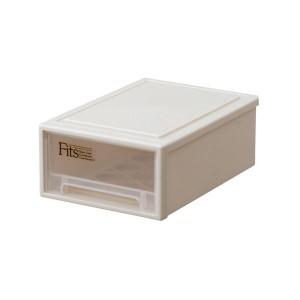 (まとめ) 天馬 Fits フィッツケース プチ W184×D272×H102mm カプチーノ 1個 【×4セット】 送料込!