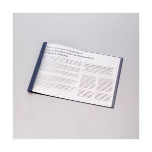 (まとめ) コクヨ レポートメーカー 製本ファイル A3ヨコ 50枚収容 緑 セホ-53G 1パック(5冊) 【×5セット】 送