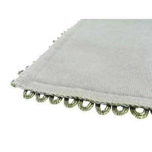ジャガード織テーブルマット/スクエア(レッド)