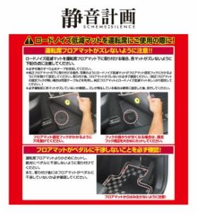 (まとめ) ロードノイズ低減マット(M) 2660 【×2セット】 送料込!