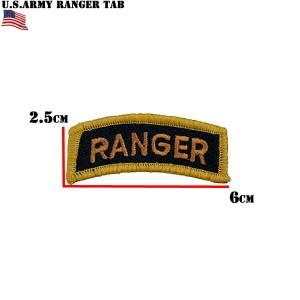 新品 米軍 RANGER タブワッペン #124
