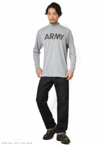 SOFFE ソフィー 米軍仕様 D0000012 ロングスリーブ ARMY Tシャツ