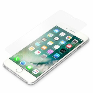 iPhone 7 Plus 5.5inch 液晶保護フィルム 衝撃吸収 アンチグレア PG-16LSF16 取り寄せ商品 iPh