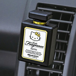 KT512 ハローキティ ACボトルフレグランス エレガントフローラルの香り セイワ 芳香剤 車 吊り下げ 部屋 エアコン 置き
