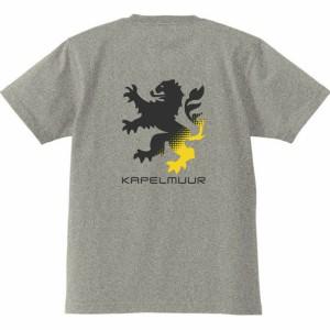 カペルミュール ヘビーウエイトTシャツ ビッグライオン 杢グレー