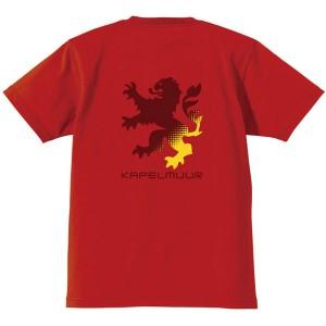 カペルミュール ヘビーウエイトTシャツ ビッグライオン レッド