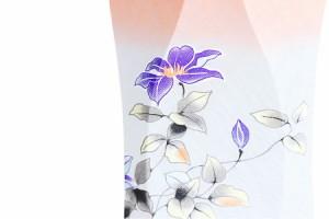 盆提灯 一対 セット ■■ 鉄仙花に虹の灯明 ■■ 和 モダン ■■【岐阜の誉れ シリーズ】モダン提灯 行灯 ちょうちん 初盆 新盆 仏具