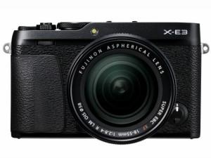富士フイルム デジタル一眼カメラ FUJIFILM X-E3 レンズキット [ブラック]