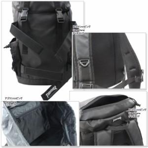 64fcdbf85f22 THRASHER スラッシャー バッグ リュック THRPN-8900 ボードバックパック かぶせ ダブルベルト サイドメッシュポケット付き  ag-853800