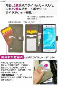 【送料無料】<パフォーマンス用>Xperia X Performance(SO-04H/ SOV33/502SO)用スライドカードポケット!