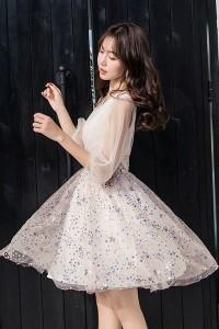 5191c705d0394 セール 大きいサイズ ドレス 結婚式 パーティー☆大人可愛いカラフルスパンコールドレスワンピース☆M L 2L 3L 4L 5L サイズ yoro543