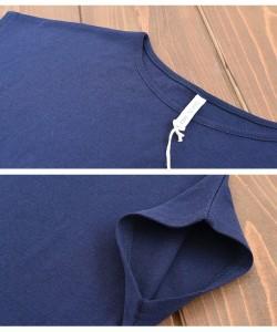 【ゲリラSALE】Tシャツ オーガニックコットン 100% 敏感肌 肌に優しい ストレスフリー カットソー 半袖 ラウンドネック