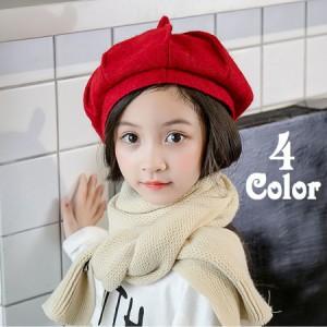 2c66414a6ffd8 とんがりベレー帽 ベレーキャップ 八角ベレー帽 帽子 ぼうし 子供用 キッズ 立体デザイン シンプル