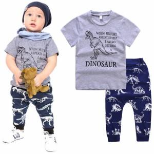 fadd2c4523b10f 上下セット 2点セット 半袖Tシャツ 長ズボン ロングパンツ サルエルパンツ 子供用