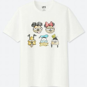 UT ユニクロ ミッキー アート ケビン・ライオンズ Tシャツ L