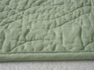 【綿100% 両面使える水洗いキルト敷きパット 120x205】