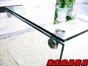 テーブル センターテーブル ガラステーブル【オールクリアガラステーブル】●