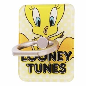 ☆ ルーニー・テューンズ スマートフォン用リング アクリル トゥイーティー JUMP IJ-WABKR/TW001[メール便送料無料]