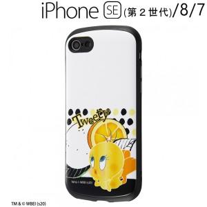ルーニー・テューンズ iPhone SE(第2世代)/8/7 専用耐衝撃ケース MiA/トゥイーティー/スタンダード IN-WP24AC4/TWA1 (メール便送料無料)