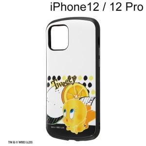 ルーニー・テューンズ iPhone 12 / iPhone 12 Pro 耐衝撃ケース MiA/トゥイーティー/スタンダード IN-WP27AC4/TWA1 (メール便送料無料)