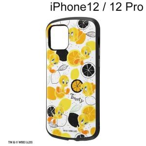 ルーニー・テューンズ iPhone 12 / iPhone 12 Pro 耐衝撃ケース MiA/トゥイーティー/総柄 IN-WP27AC4/TWB1 (メール便送料無料)