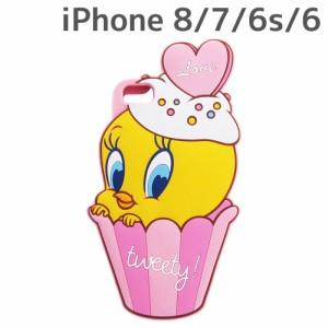 ☆ トゥイーティー iPhone8/7/6s/6 専用 シリコンケース ダイカット IN-WP7S6DC1/TW[メール便送料無料]