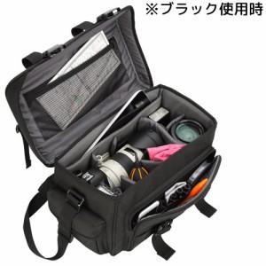 【在庫僅少】SLD-RG2-SBLNV ハクバ カメラバッグ ルフトデザイン リッジ02 ショルダーバッグ L(ネイビー)