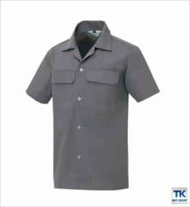 作業シャツ 半袖シャツ 作業服 作業着 春夏 AITOZ ベーシックワーク az-531-b