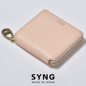 1ecee73d1946 e-mono · 【SALE/セール】シング 財布 SYNG ブランド メンズ レディース 二つ折り財布 ラウンドファスナー