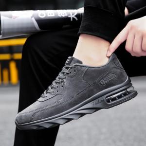 69eaf85206b2a0 【SALE/セール】スニーカー メンズ ローカット カジュアル レースアップ シューズ ローカットスニーカー エアー 黒 灰色 茶色 紳士靴 く