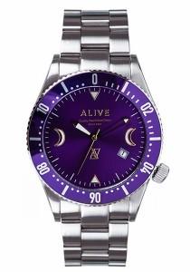 quality design a7908 6032f アライブ アスレティックス 時計 ALIVE ATHLETICS メンズ レディース 腕時計 GRAVITY Silver/Purple au  Wowma!(ワウマ)