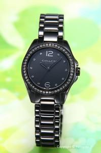 d36dd96a66 ピンクパール Tristen Mini Ceramic COACH レディース腕時計 トリステン ミニ 14502154 セラミック コーチ (シェル)