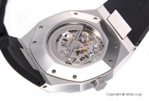 D1 MILANO D1 ミラノ 腕時計 スケルトン コレクション シルバー A-SK01