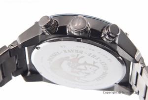 ディーゼル 腕時計 DIESEL メンズ オーバーフロー ネイビー×ガンメタル DZ4412