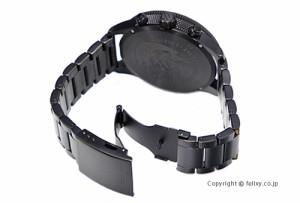 ディーゼル DIESEL 腕時計 メンズ Rasp Chrono ブラックポラライザー DZ4447