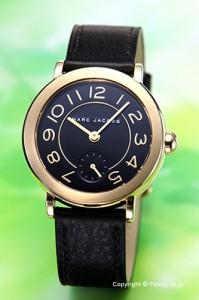 マークジェイコブス 腕時計 MARC JACOBS ライリー ブラック×ゴールド MJ1471