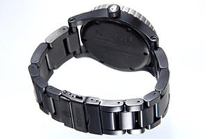 NIXON ニクソン 腕時計 メンズ Diplomat SS ブラック/シルバー/グリーン A2771421 【A277-1421】