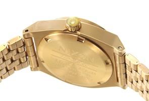 NIXON ニクソン レディース腕時計 A3991520 (A399-1520) スモール タイムテラー オールゴールド クリスタル