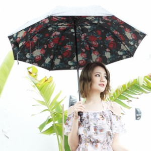 傘 折り畳み傘 晴雨兼用 日傘 手動 UV 紫外線対策 ストラップ ポリエステル ギフト  柄 2018夏新作 インスタ映え acm1806-1289