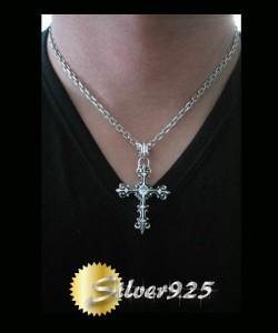 【DB】デザインクロス(11)CZ ・シルバー925十字架銀ブランド送料無料