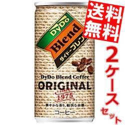 【送料無料】ダイドー ブレンドコーヒー オリジナル 185g缶 60本(30本×2ケース)big_dr