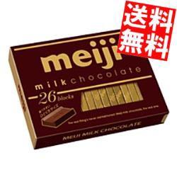 【送料無料】明治 ミルクチョコレートBOX (26枚入)×6箱入[のしOK]big_dr