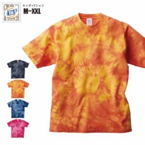 タイダイTシャツ#TDT-148 M,L,XL,XXL CROSS & STITCH メンズ sst-c