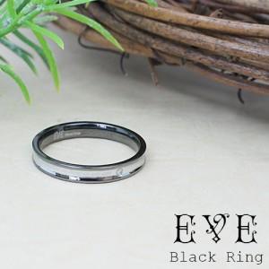 メッセージが刻印されたリング サージカルステンレス 一粒天然ダイヤモンド メンズ 低金属アレルギー