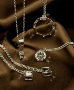 ハート型CZダイヤ(キュービックジルコニア:人工石)ジュエリーペンダントネックレス キュービックジルコニア 大特価 選べる5タイ