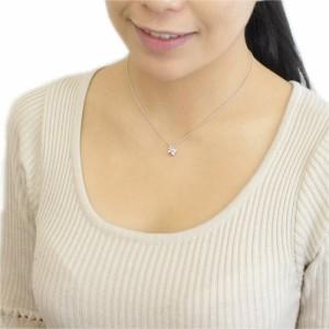 送料無料 リボンと天然ガーネットのトップネックレスです。ガーネットは 1月の誕生石です