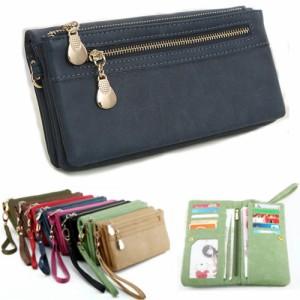75ac3f8c1168 長財布 レディース 二つ折り財布 小銭入れあり ロングウォレット 多機能